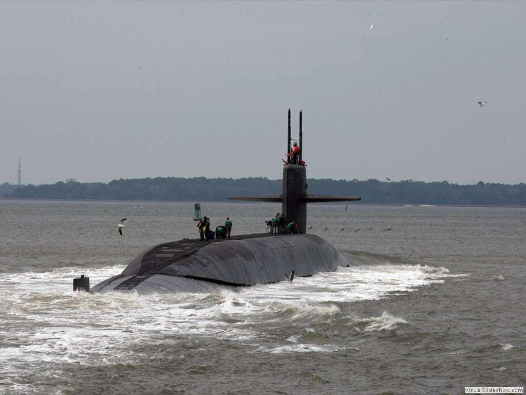 USS West Virginia (SSBN-736) returns to Naval Submarine Base Kings Bay
