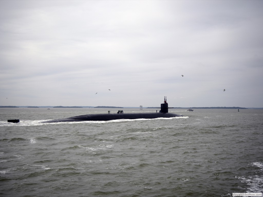 USS West Virginia (SSBN-736) returns to Naval Submarine Base Kings Bay-2