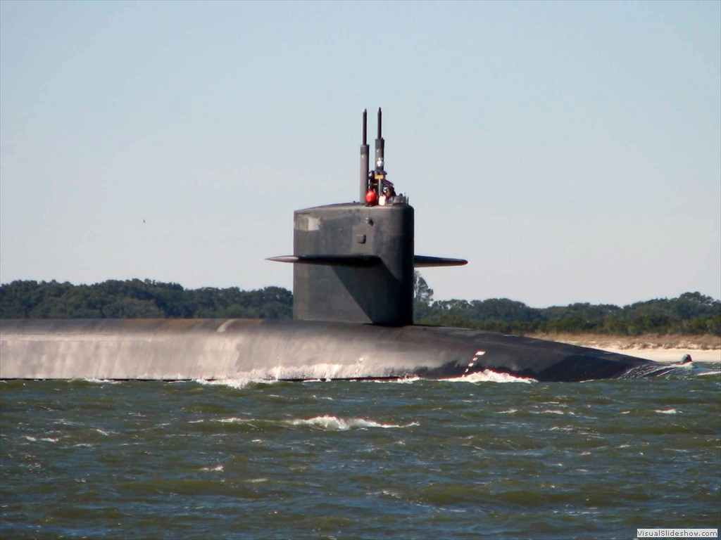 USS Wyoming (SSBN-742) was launched Jul 15, 1995